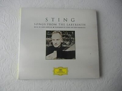 Sting Songs From the Labyrinth CD NEW!!