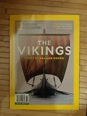 National Geographic The Vikings; Lords Of Sea And Sword  2019  Magazine  New