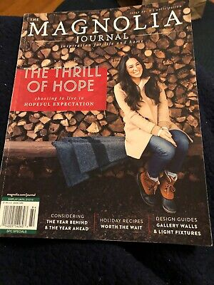 THE MAGNOLIA JOURNAL MAGAZINE ISSUE No. 9 WINTER 2018 NEW YEAR 2019