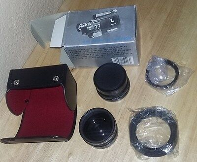 Lenmar VIDEO Auto Focus CAMCORDER 2 Lens Set, 1.5x Tele Photo, 0.6x Wide Angle