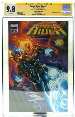 Cosmic Ghost Rider #1 SDCC Glow in the Dark Variant CGC SS 9.8 Signed Campbell