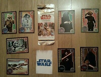 5 X Cromos ALBUM Start Wars CARREFOUR 2017 - Jedi 8 Trading card Topp(VER LISTA)