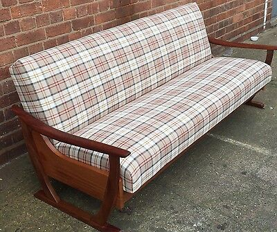 Outstanding Retro Teak Danish  Sofa/Daybed Delivery Available
