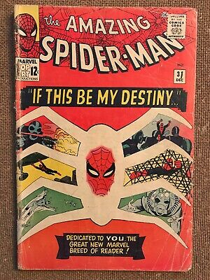 AMAZING SPIDER-MAN #31 (Marvel 1965) 1st app Gwen Stacy & Harry Osborn! GD+