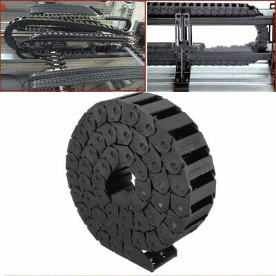 Nylon Cable Drag Chain Nested Wire Towline Carrier Track For CNC Machine Router