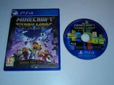 Minecraft Story Mode Season Pass Disc PS4 PlayStation FAST + FREE