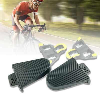 2Pcs Bike Bicycle Pedal Rubber Cleat Covers For Shimano SPD-SL Racing Road Cleat