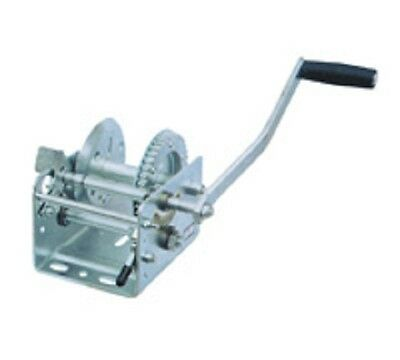 600--800lb Boat truck auto hand manual winch without wire rope and hook tool