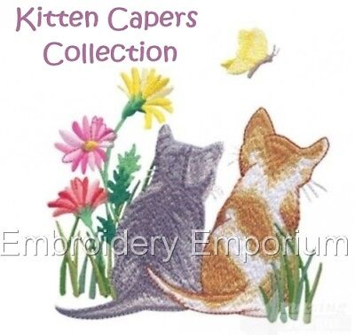 Kitten Capers Collection - Machine Embroidery Designs On Cd Or Usb
