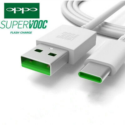 OPPO VOOC USB Type-C USB-C Fast Charger Adapter Cable For Oppo Find X R17 Pro