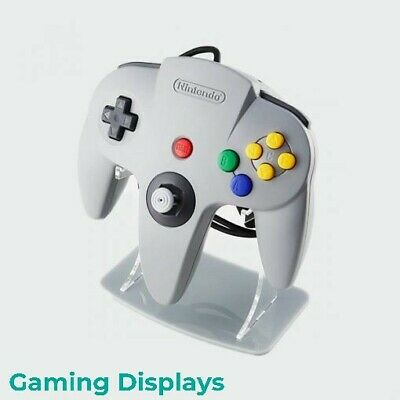 Nintendo 64 Grey Colour Matched Controller Display Stand, Gaming Displays, N64