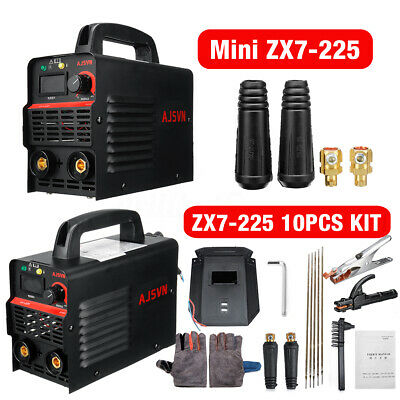 220V 225A ARC Force MMA Stick Welder IGBT Welding Inverter Machine 10PCS Kit