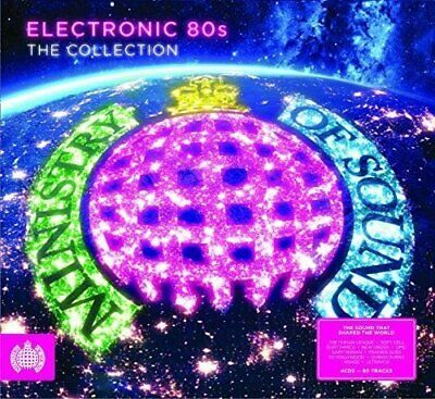 Electronic 80s NEW 4CD Eighties Hits By Heaven 17,A-HA,Soft Cell,ABC,Blondie ETC