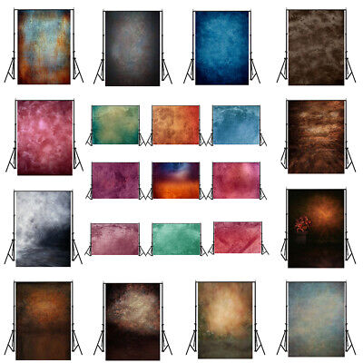 Vintage Tie Dye Colorful Studio Photography Backdrop Background Wall Photo Props