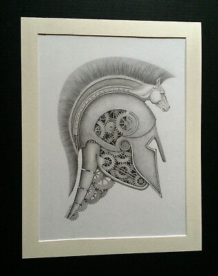 ~THE TROJAN HORSE ~ by Joshua Edwards - Original Artwork -