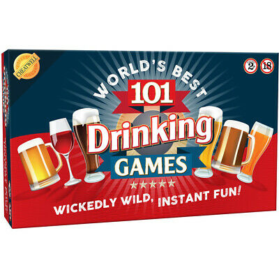 Cheatwell World's Best 101 Drinking Games Adult Game - 05232
