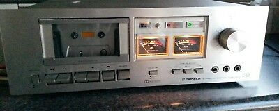 Vintage Pioneer Stereo Cassette Tape Deck CT-506 Made in Japan 1978-80 has issue