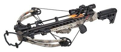 Crosman CenterPoint AXCSPE185CK Spectre 375 Camo Compound Crossbow Package