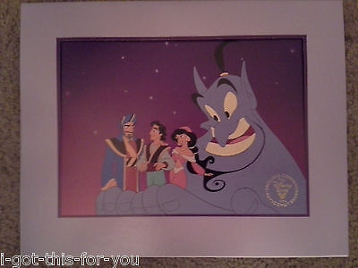Walt Disney's Aladdin King of Thieves Exclusive Lithograph VHS release 1996