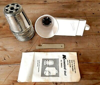 Vintage Slicer Shredder Attachment A786 for Kenwood Chef Mixer A700 A700D A701