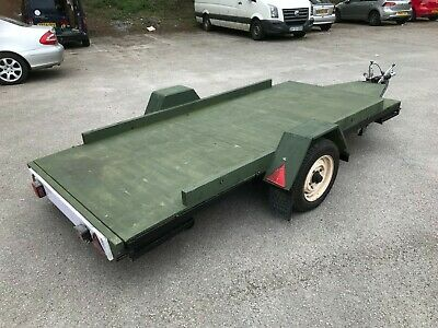 4.8 Mtr Two Wheeled Braked Flatbed Trailer