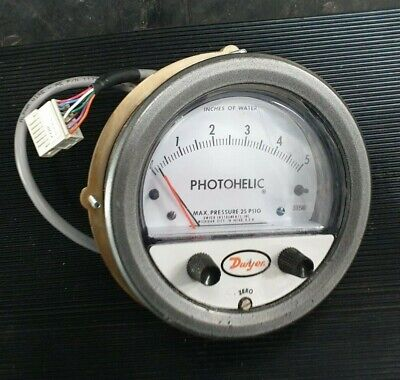 Dwyer 3005Mr Photohelic Differential Pressure Switch  (In21S3)