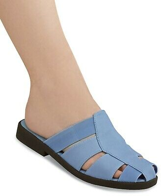 aafdc21725 Gina Casual Flats Women s Blue Slip On Shoes - Size 9