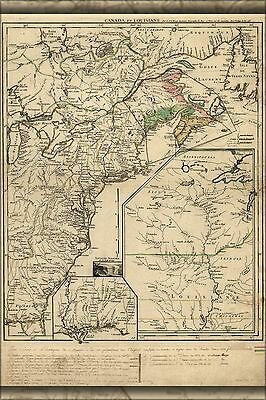 Poster, Many Sizes; Map Of New England & Canada 1755 P2