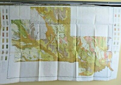 1909 Antique Color Map Clay County Mississippi West Point Waverly 37 X 24 #0374