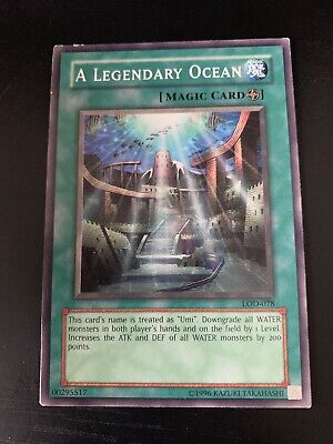 Yugioh! A Legendary Ocean - LOD-078 - Common - Unlimited Edition Light Play