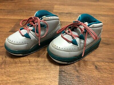 14030ebe0d2a Nike Infant Baby Toddler Air Jordan DELUXE GT 6c Shoes Gray Emerald  807716-007