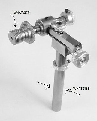 Easy  Pro Woodturning Lathe Two Spindle Screw Cutting Tool/Jig