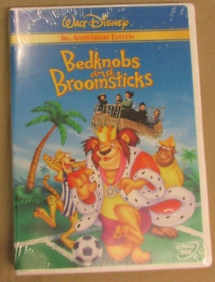 Bedknobs and Broomsticks (DVD, 2001, 30th Anniversary Edition) NEW Sealed