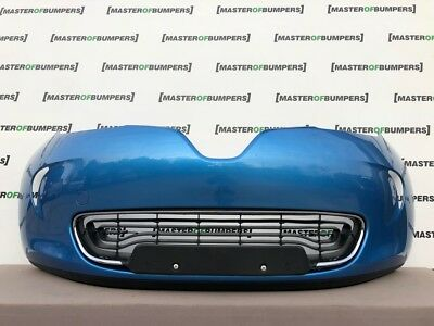 Renault Zoe 2012-2016 Front Bumper In Blue Genuine [R223]