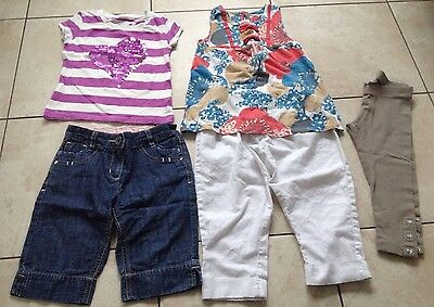 Next Girls Bundle Outfit, Jeans, T-Shirt & Leggings. Age 3 Years Good Condition.