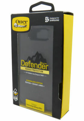 New OEM OtterBox Defender Series Black Case For Samsung Galaxy S8+ Plus