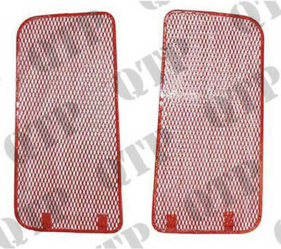 Fordson Major,Power Tractor Front Grill Pair No Head Lamp Holes Ford