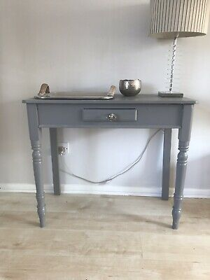 Victorian Pine Console Table Hand Painted
