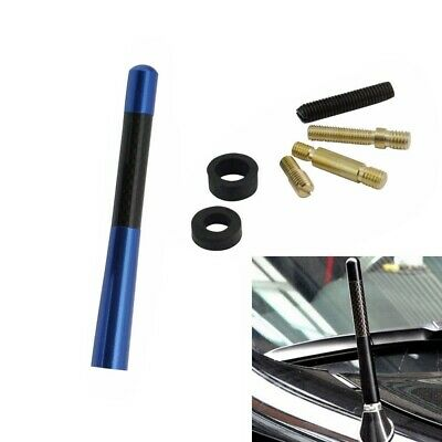 1 Pc Aluminum Short Universal Replacement Auto Car Antenna with Screws and Rings