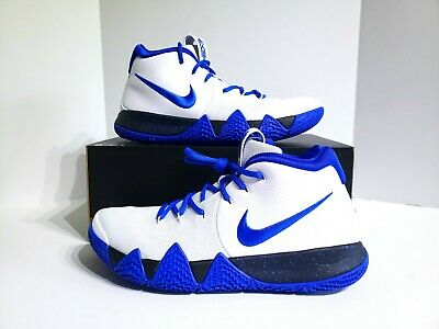 new products 27f32 6a132 Nike iD Custom Kyrie 4 Duke Blue Devils AR3867-994 Mens Size 12.5 Shoes