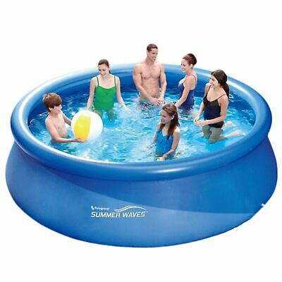 Summer Waves Fast Set Quick Up Pool 366x91cm Swimming Pool Familien Schwimmbad