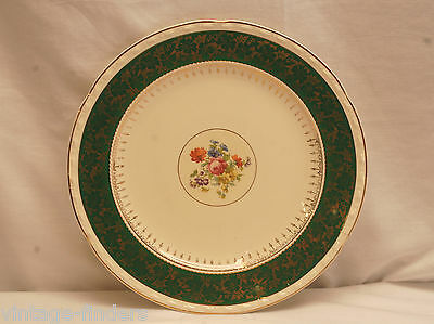 "Old Vintage Crooksville 10"" Dinner Plate CRO834 Pattern American Made"