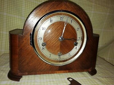 Smiths Westminster Mantle Clock In E.w.o  Sm1We