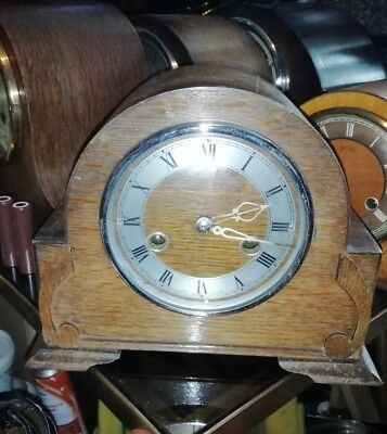 Enfield Miniature Mantle Clock In E.W.O   Ens1