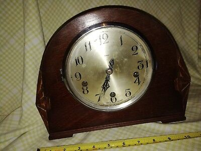 ENFIELD WESTMINSTER MANTLE CLOCK IN E.W.O  EN66 Reduced