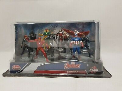 Disney Store Avengers Captain America Civil War Deluxe Figurine Figure Set