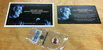 2019 W Lincoln Shield Cent Reverse Proof Deep Cameo 1¢ New Penny WEST POINT MINT