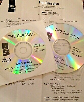 Radio Show: The Classics Tales 1/22/01 Tom Petty Collage, Doors,Csn, Queen,Kinks