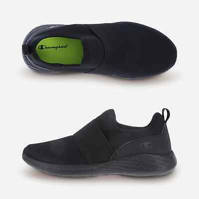 1ef645a20 WOMEN CHAMPION MEMORY Foam Slip On Shoes Black 7 1 2 Brand New with ...
