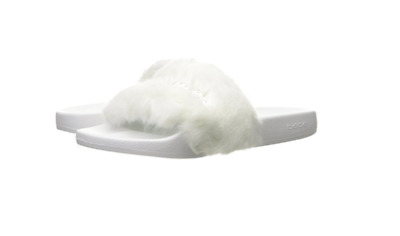 f4a0ea265c06 BEBE FURIOSAWHITE FURIOSA Wmn s (M) White Faux Fur Synthetic Slide Sandals